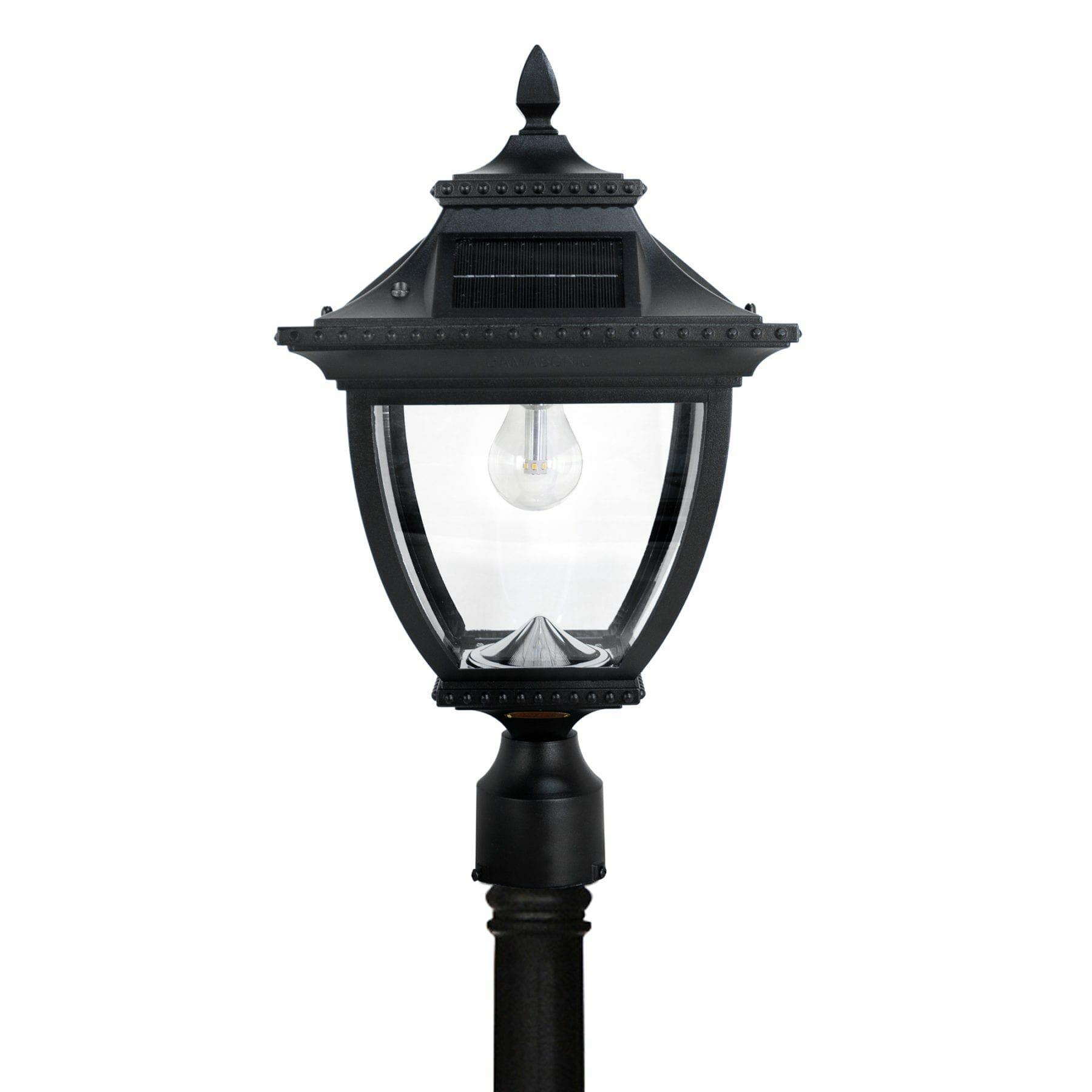 Pagoda Bulb Solar Lamp Post