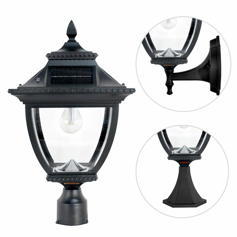 Pagoda Bulb Solar Lamp 104B033