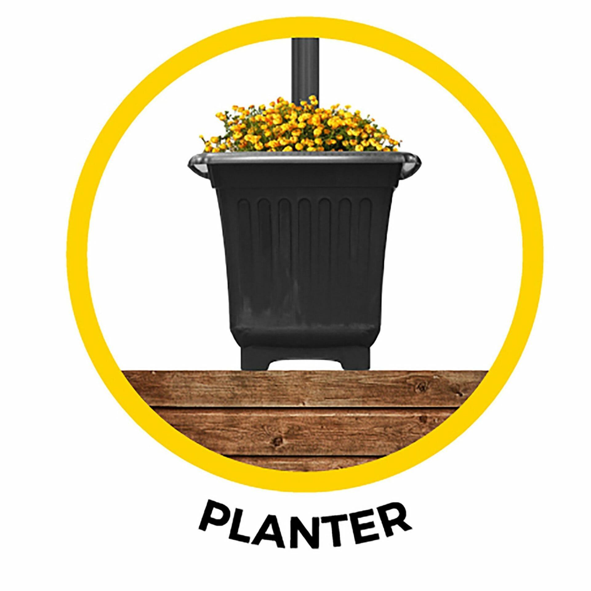 Planter for GS-105 Series 105PL880