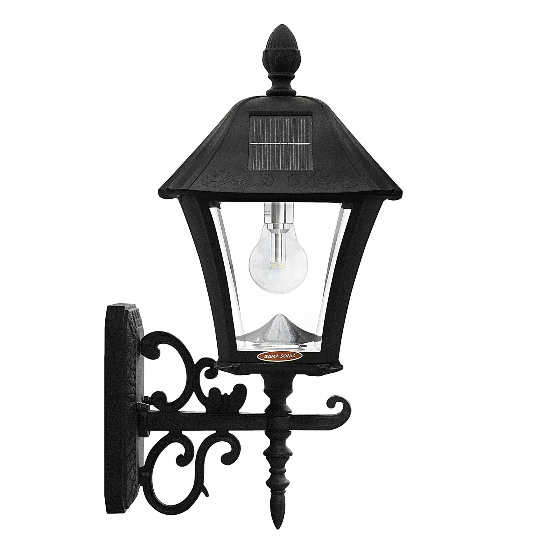 Baytown Bulb Solar Lamp with 3 Mounting Options - Side View