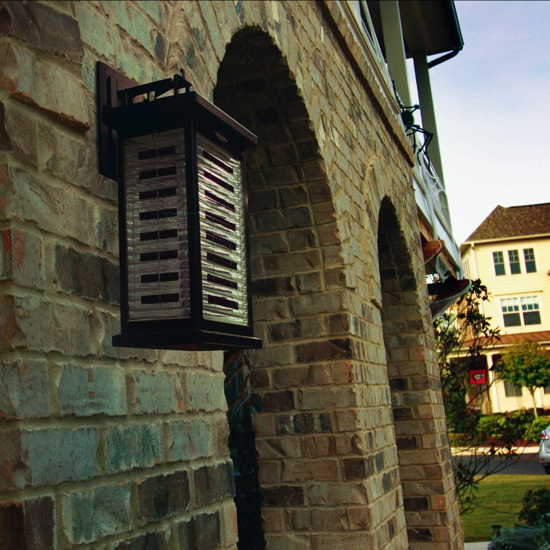 Farmhouse Solar Wall Light 130010