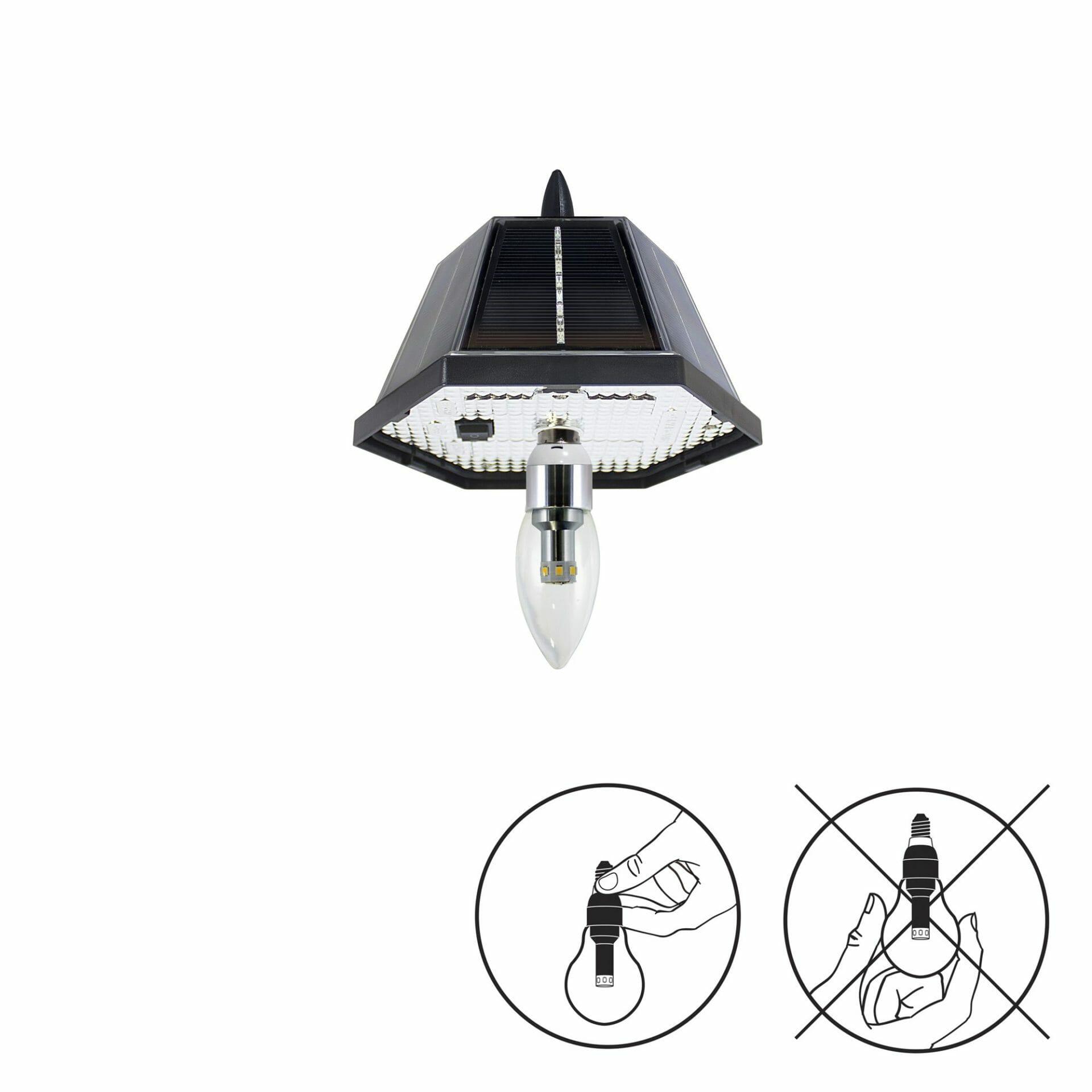 Solar Garden Light Bulb