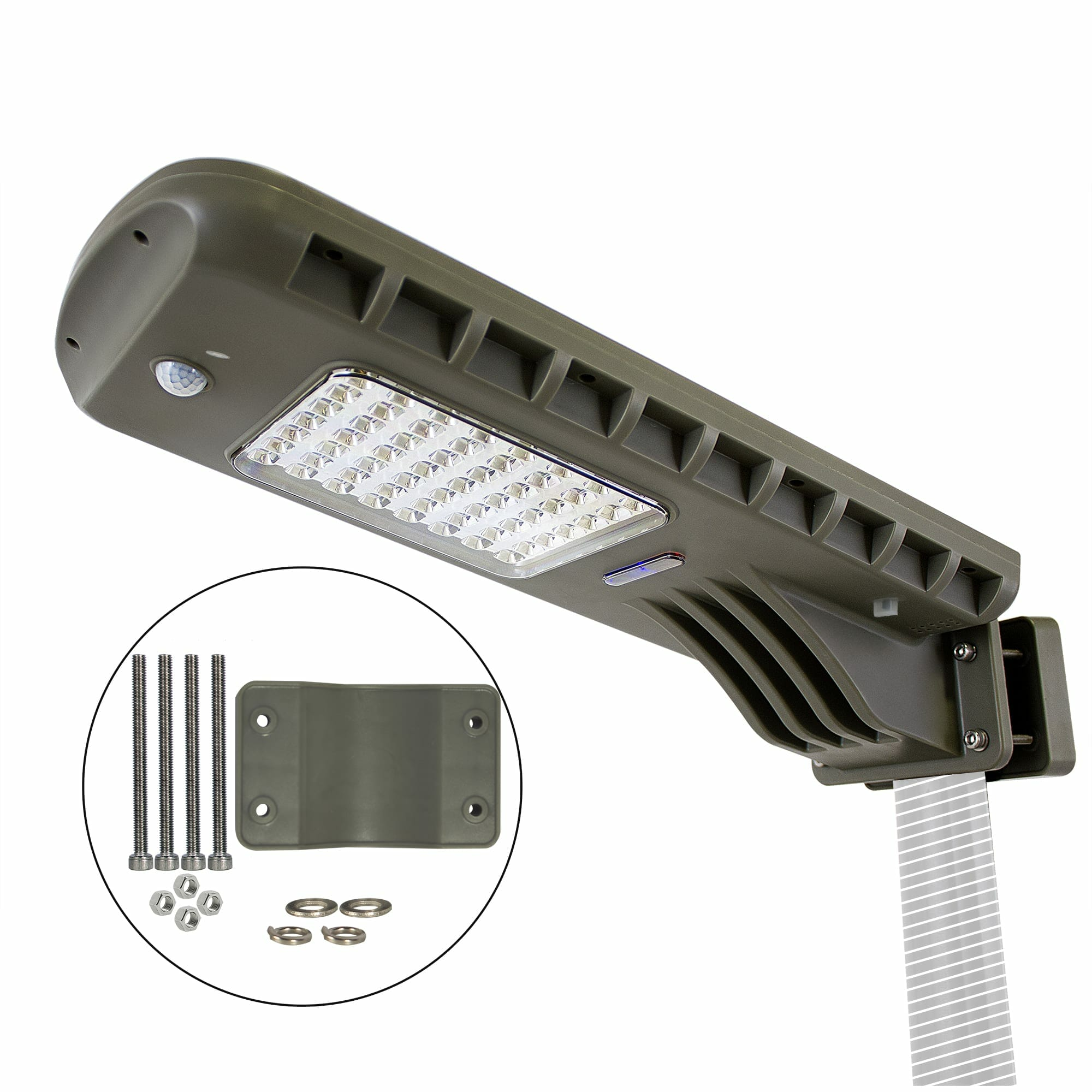 12W Solar Area Light With Motion Sensing and Timer 201iS60822