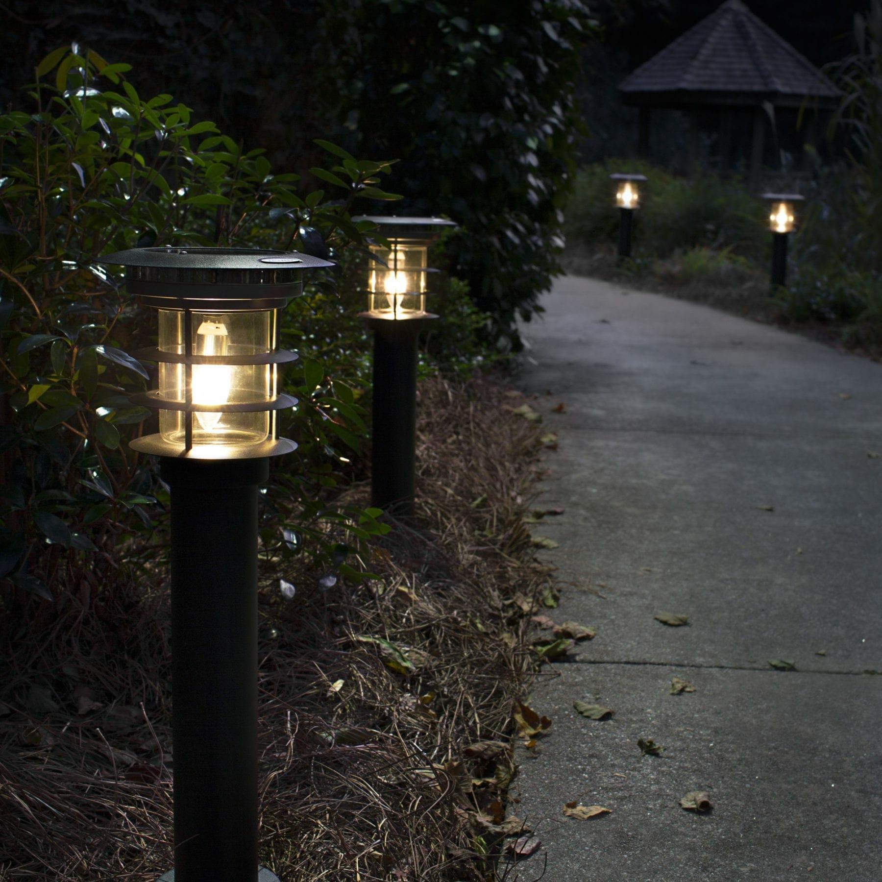 Stainless Steel Path Light - Black