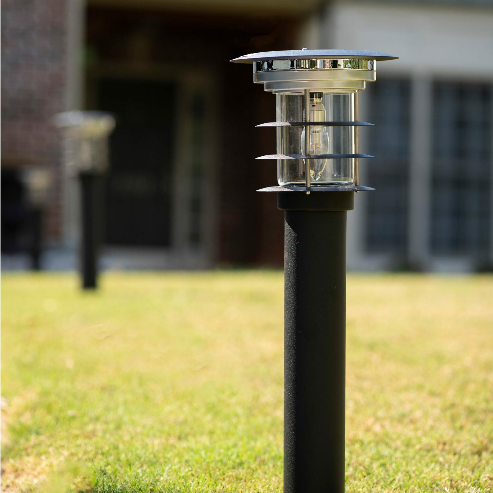 Solar Pathway Light - Black