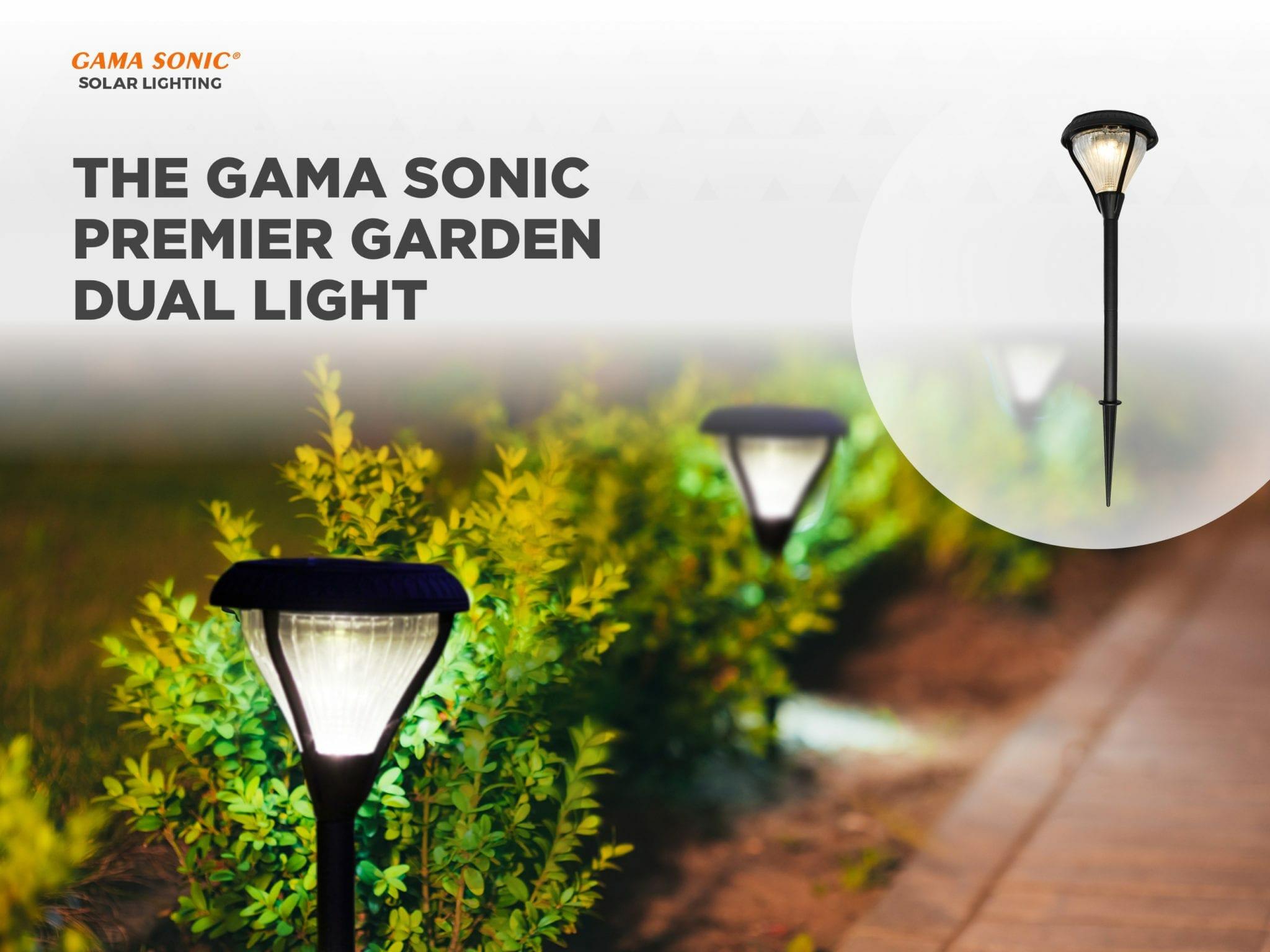 The Gama Sonic Premier Garden Dual Light - Light of the Month