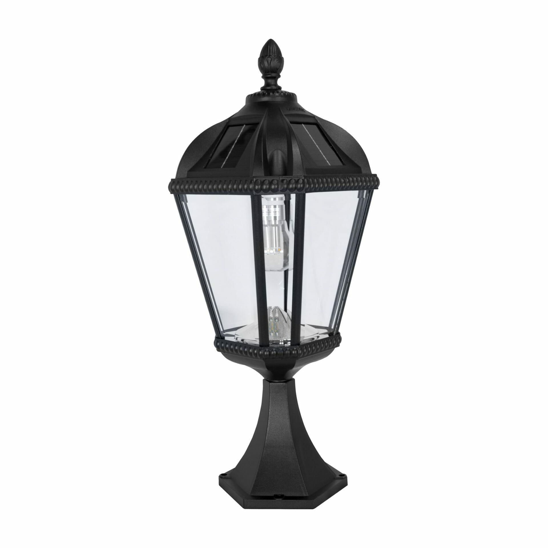 royal-bulb-pier-mount-solar-lamp-with-gs-solar-led-light-bulb-black-98b011
