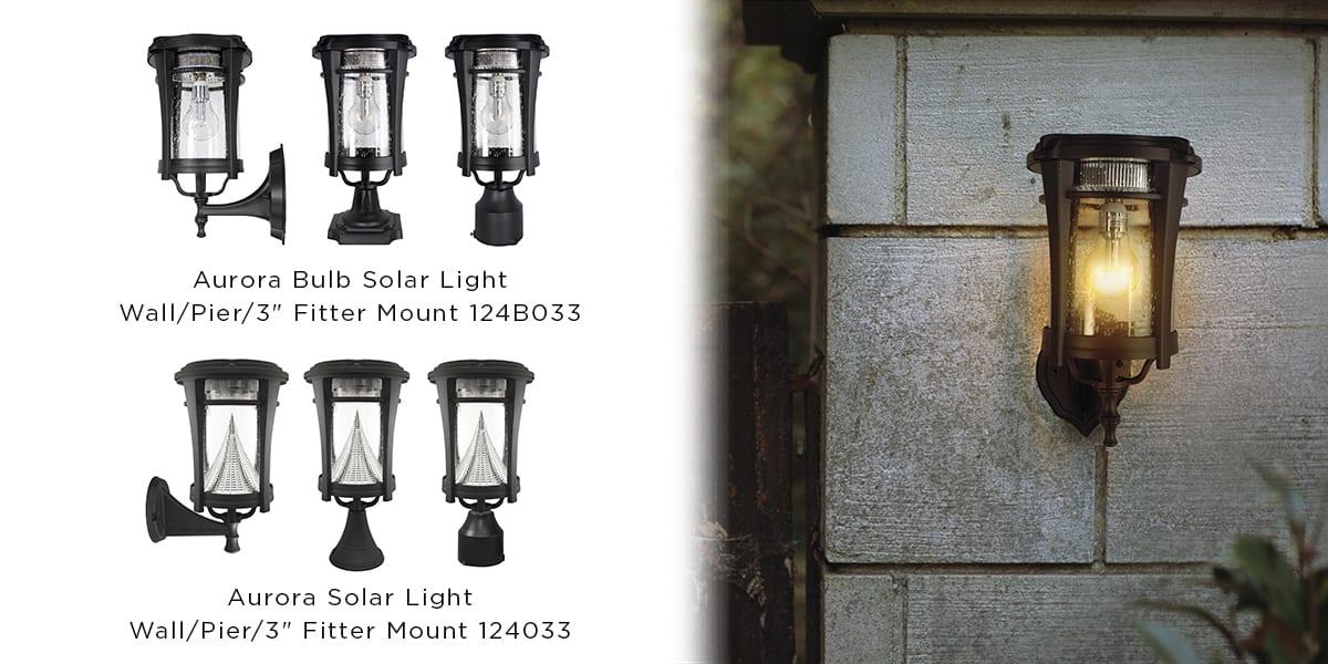 Aurora Solar Lamp Series