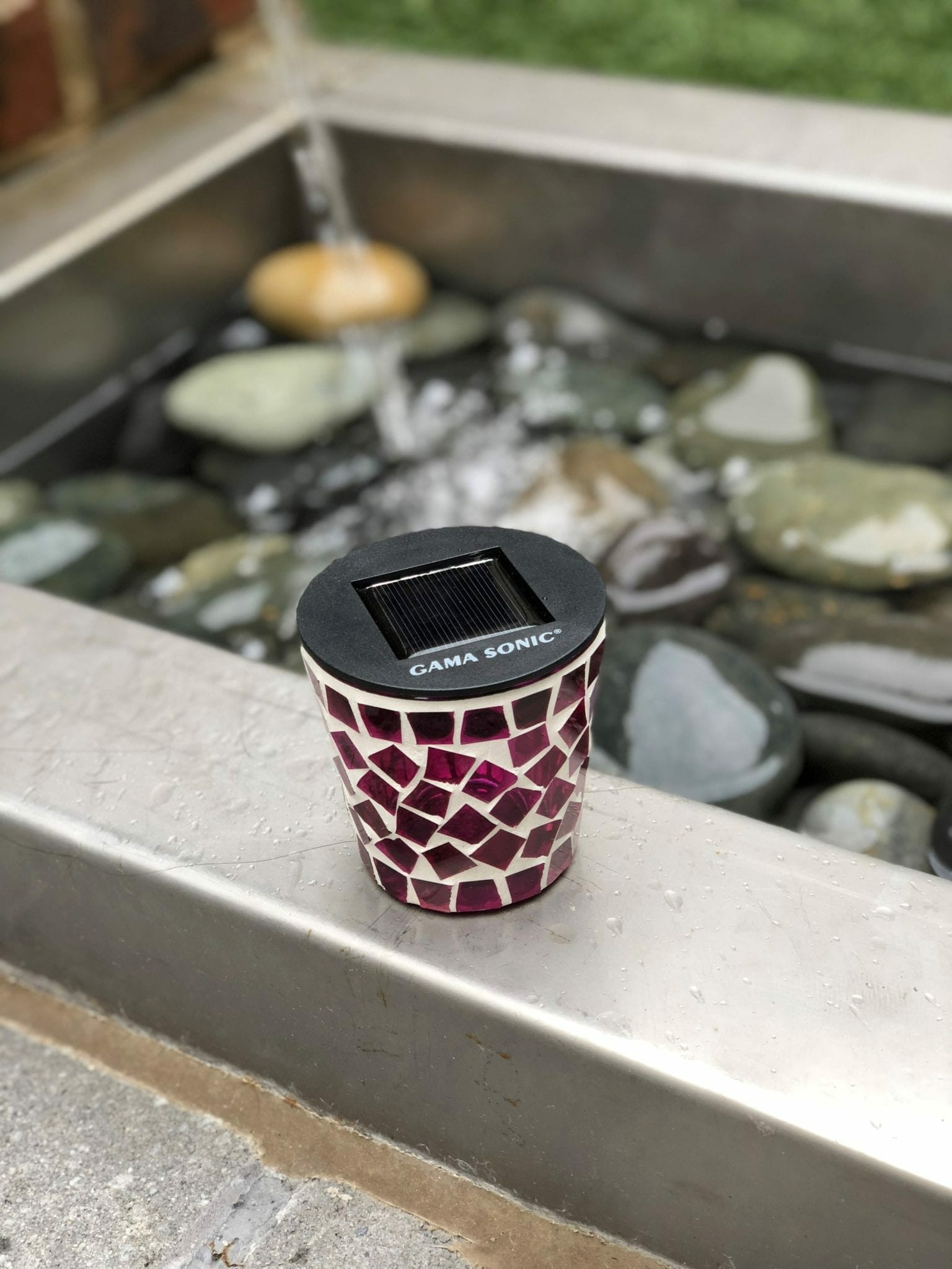 gama sonic solar tea light