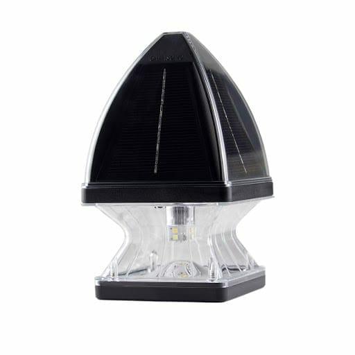 Gothic Solar Post Cap Light