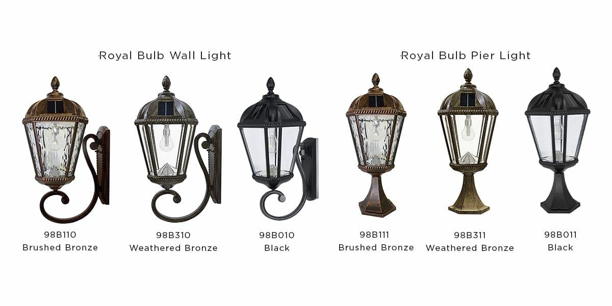 Royal Bulb Solar Lamp Series