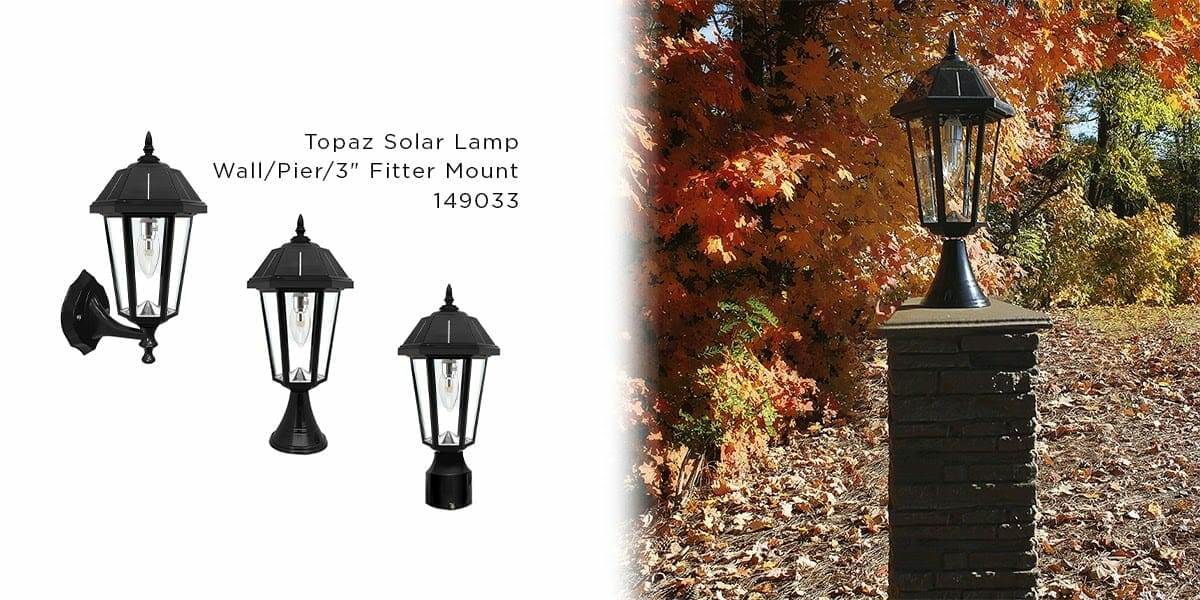 Topaz Solar Lamp Series