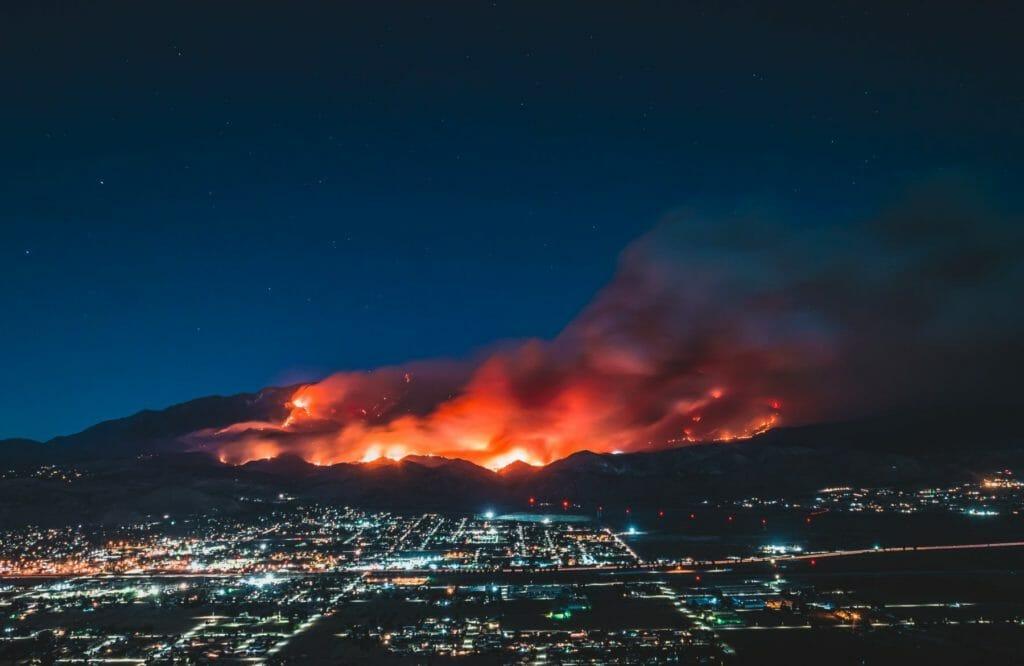 Wildfire Photo by Levan Badzgaradze on Unsplash