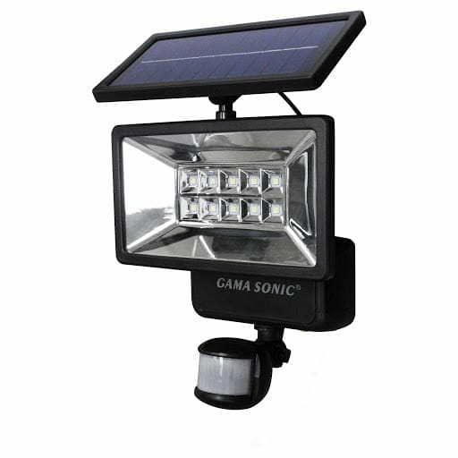 solar security light with motion sensors