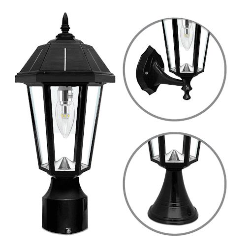 Topaz solar lamp